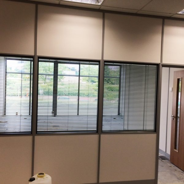 partial glass partitions