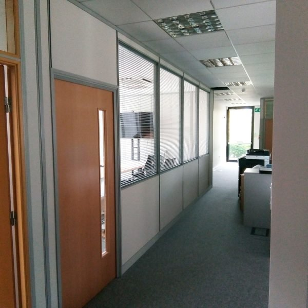 integrated blinds
