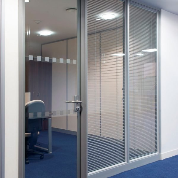acoustic glass for office