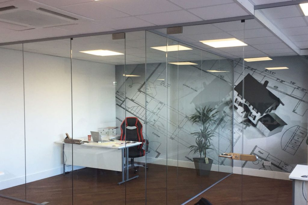 acoustic glass offices