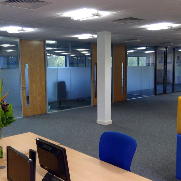 Office reconfiguration at TaxAssist in Norwich