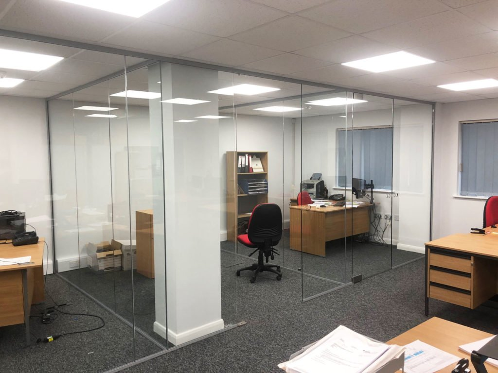 acoustic glass office in Diss